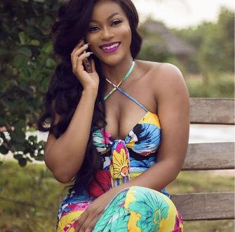 Actress Damilola Adegbite flaunts her boobs in a new photo