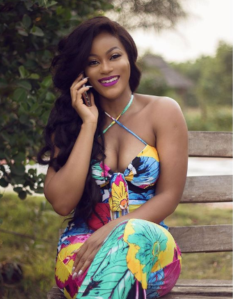 Actress Damilola Adegbite flaunts her boobs in a new photo