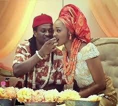 Paul Okoye and wife, Anita Okoye celebrated their 5th wedding anniversary