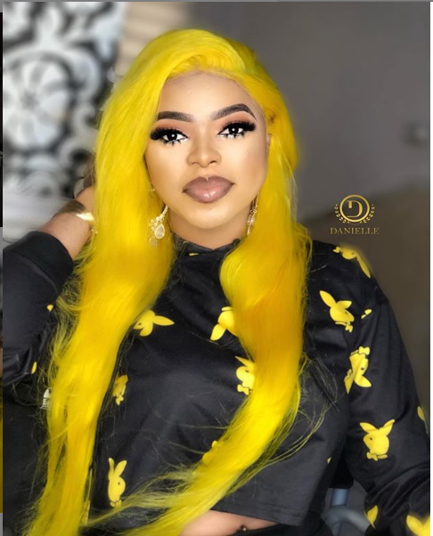 Bobrisky thanks his doctor for his big butt which he showed off in this photo