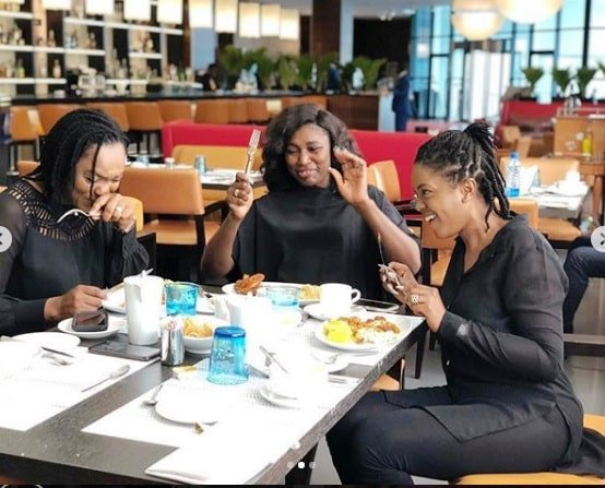 Photos of Three Nollywood's Fantastic Four at a Weekend Getaway