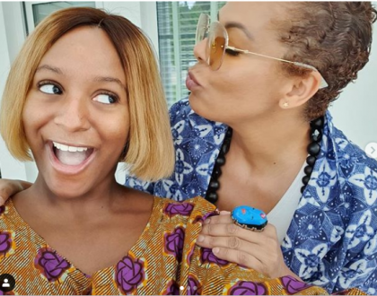 New photos of DJ Cuppy and her mom, Nana Otedola