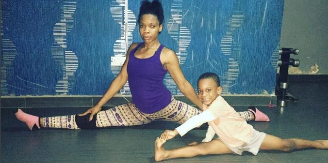 Check out this video of Kaffy and her son, Sean, dancing
