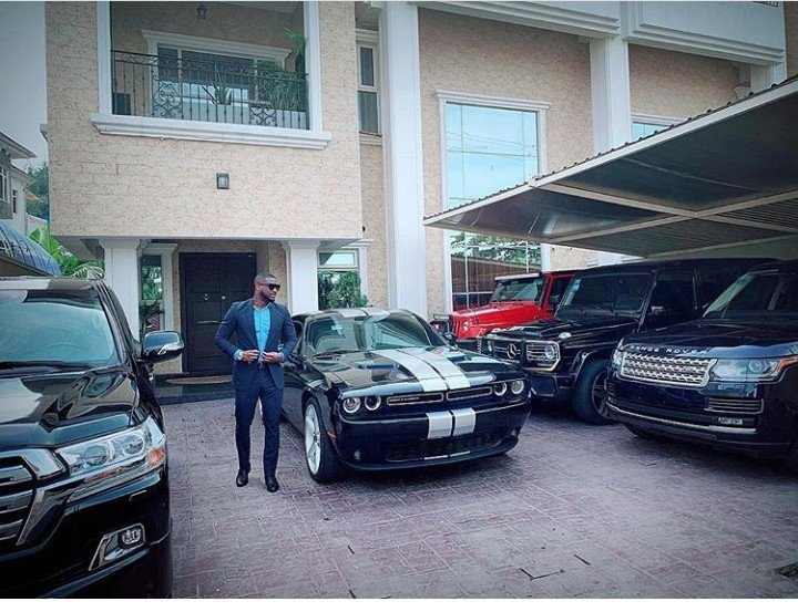 Peep Peter Okoye's Luxurious Fleet of Cars