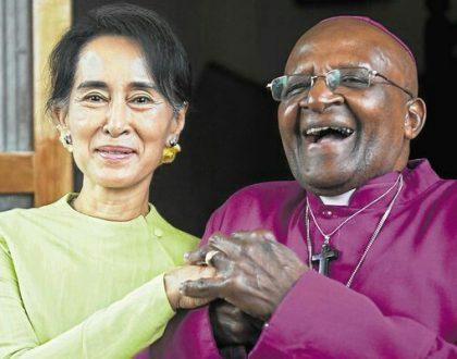 Desmond Tutu condemns dear sister