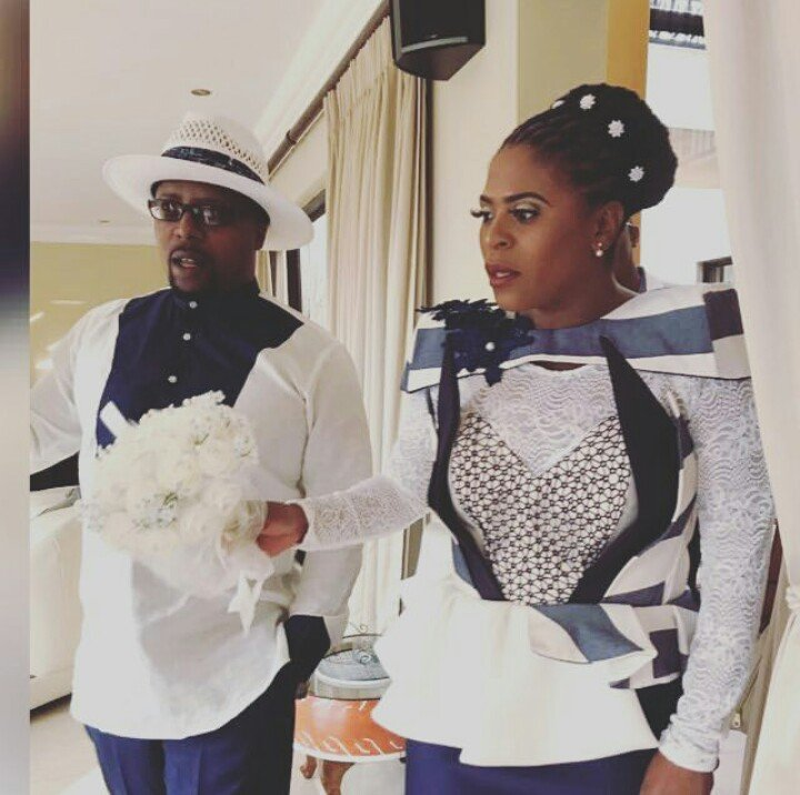 Baby Cele gets married in an intimate affair