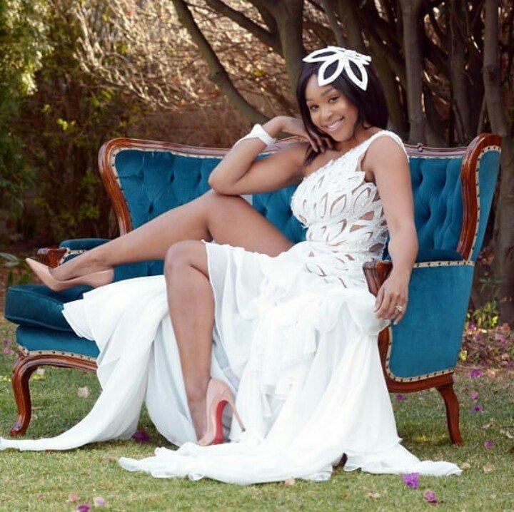 No honeymoon just yet for Minnie Dlamini