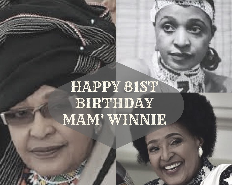 South African's pour love to Winnie Madikizela on her birthday