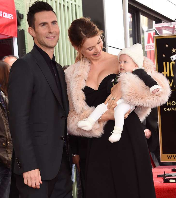 Adam Levine and Behati Prinsloo welcome a baby girl