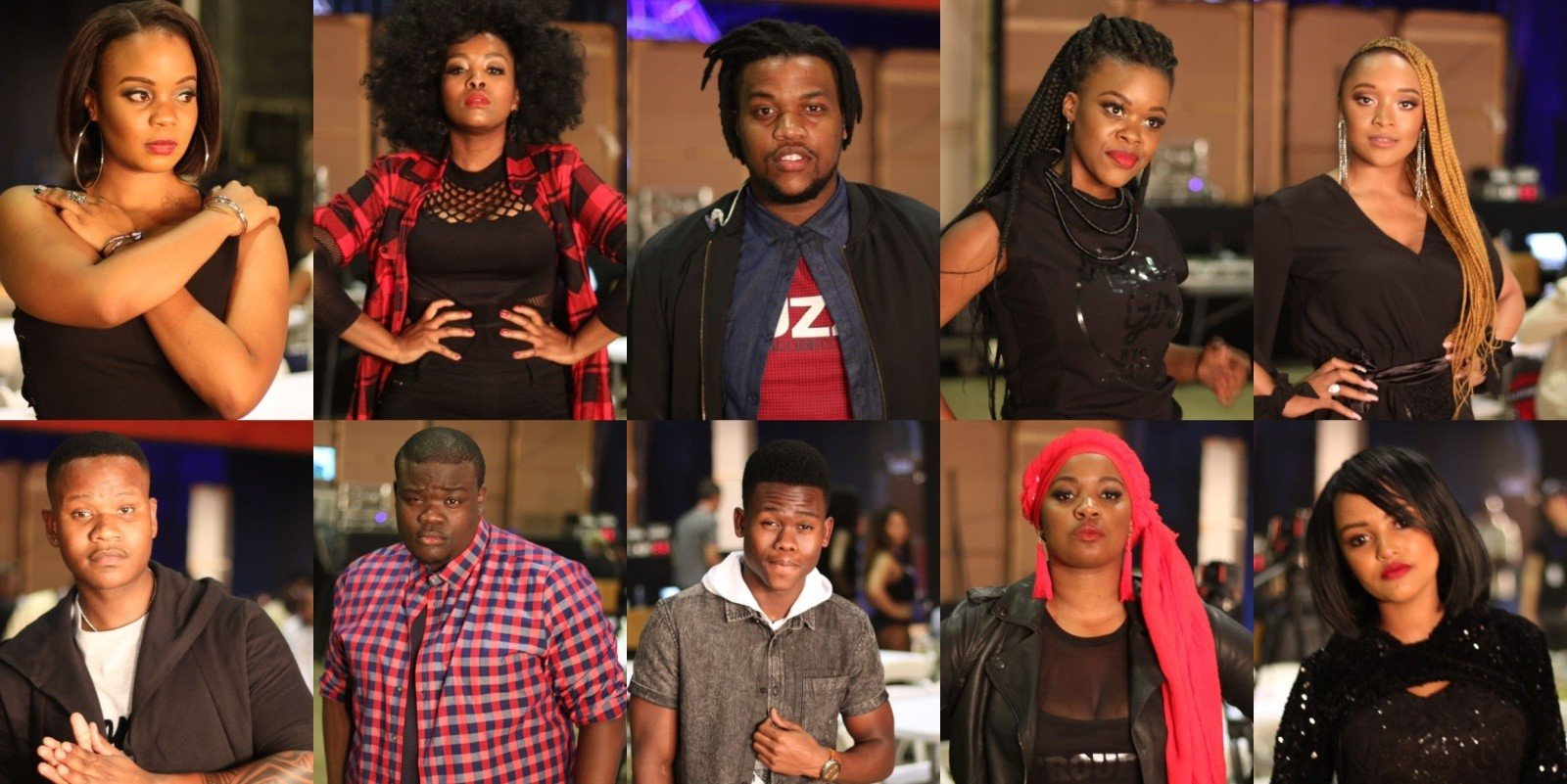 Here are the Top 10 SA Idols Finalists.(Photos)