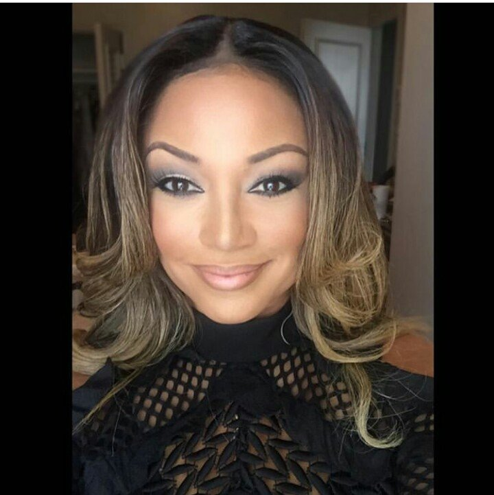 Chante Moore jets into the country