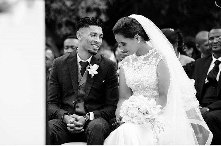 World record holder Wayde van Niekerk weds