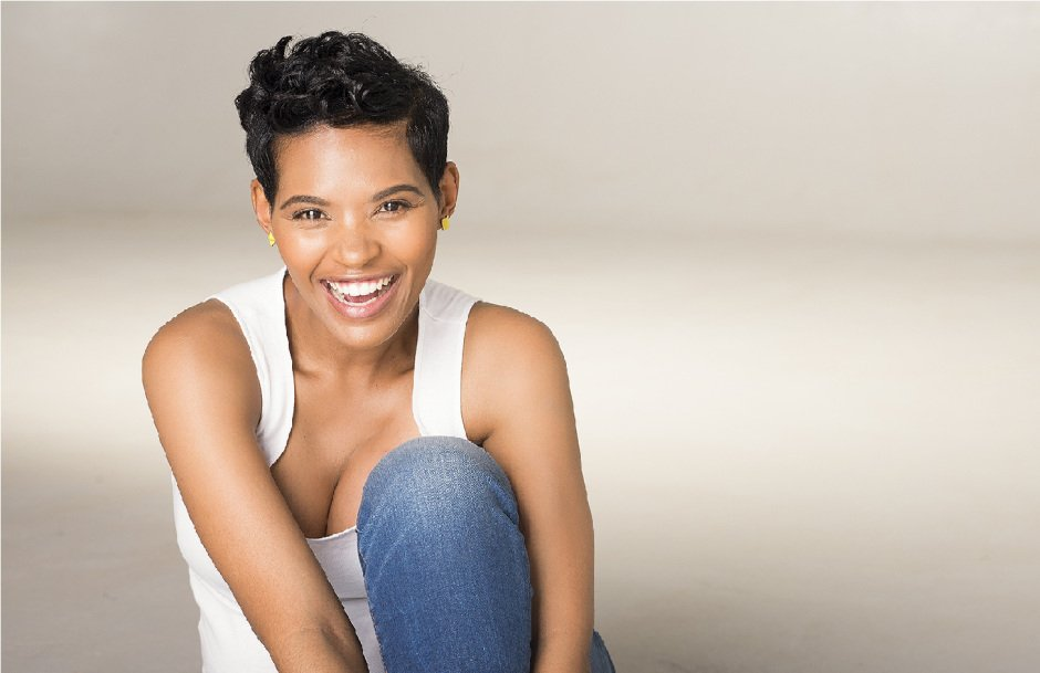 Gail Mabalane rocks a new short hair do