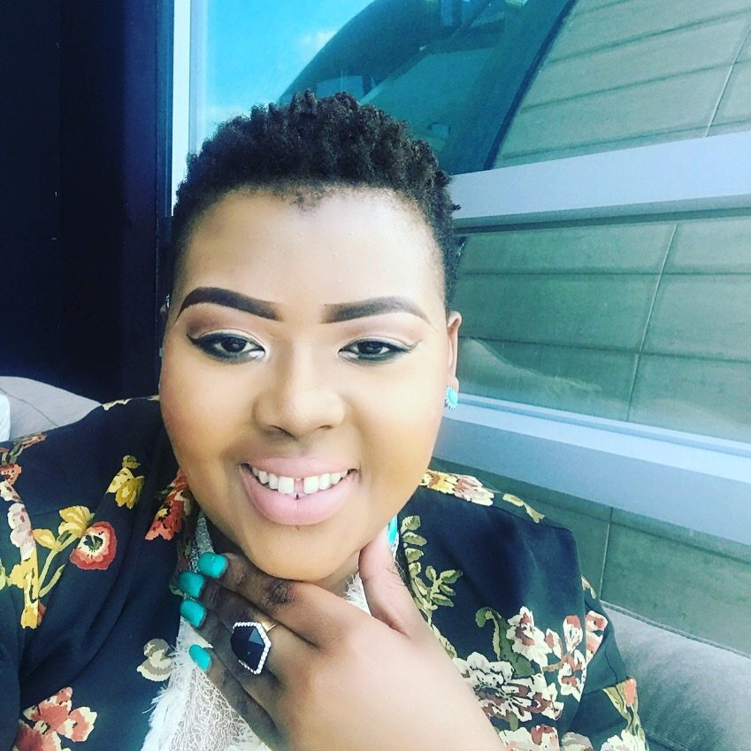 Photos: Anele Mdoda shows off bikini body
