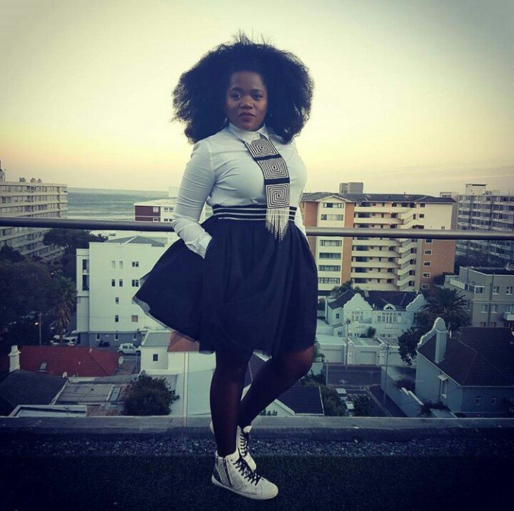 Busiswa Gqulu is pregnant