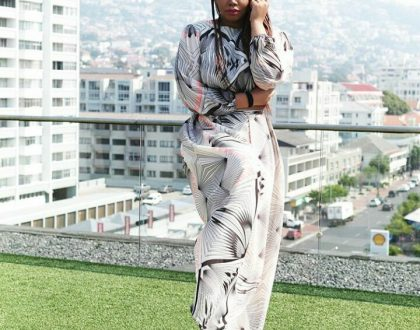 Thembisa Mdoda talks about the man in her life