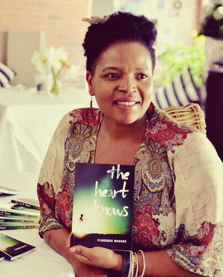 Florence Masebe launches personal book