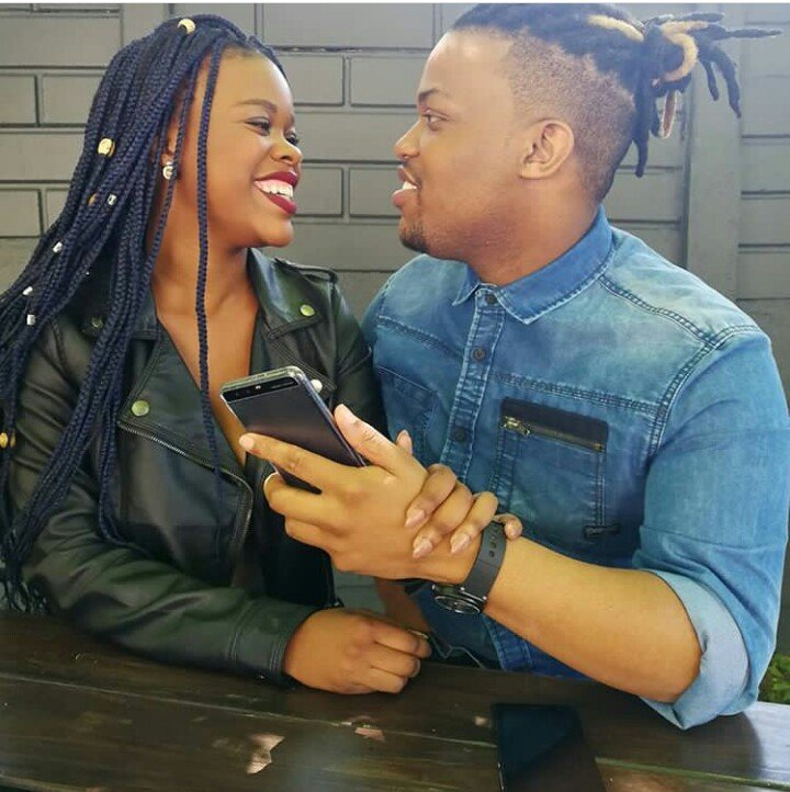Idols SA contestants Phindy and Christo in love