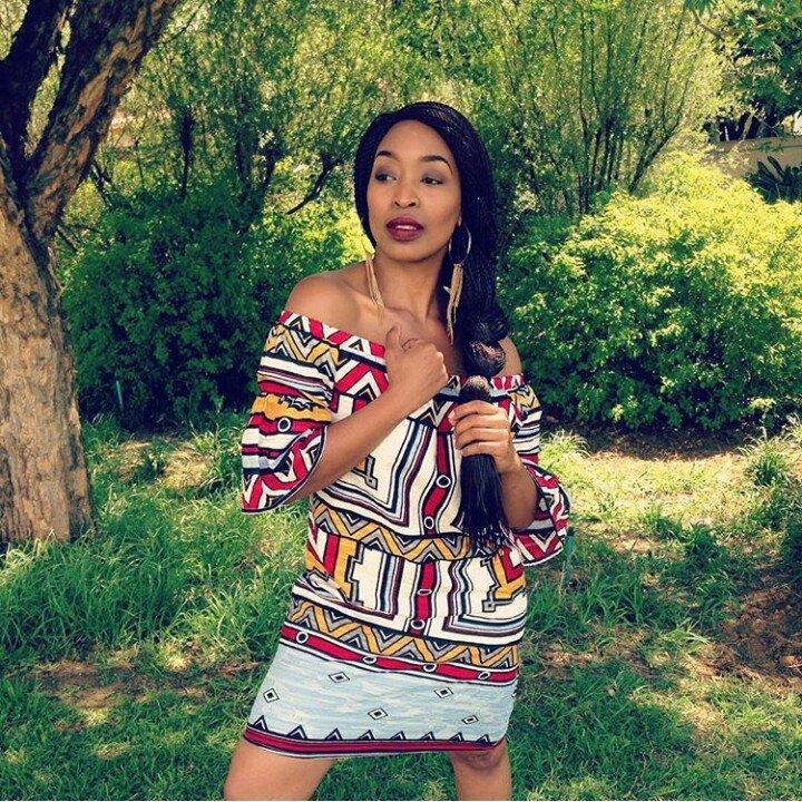 Khabonina Qubeka on why she felt no need to announce pregnancy