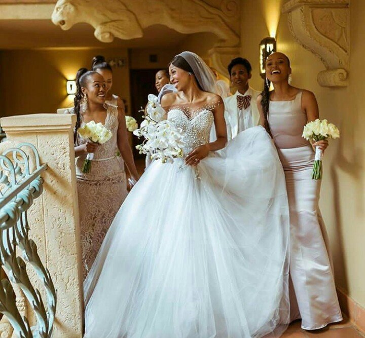 Best celebrity\'s wedding dresses of the year - Ghafla! South Africa