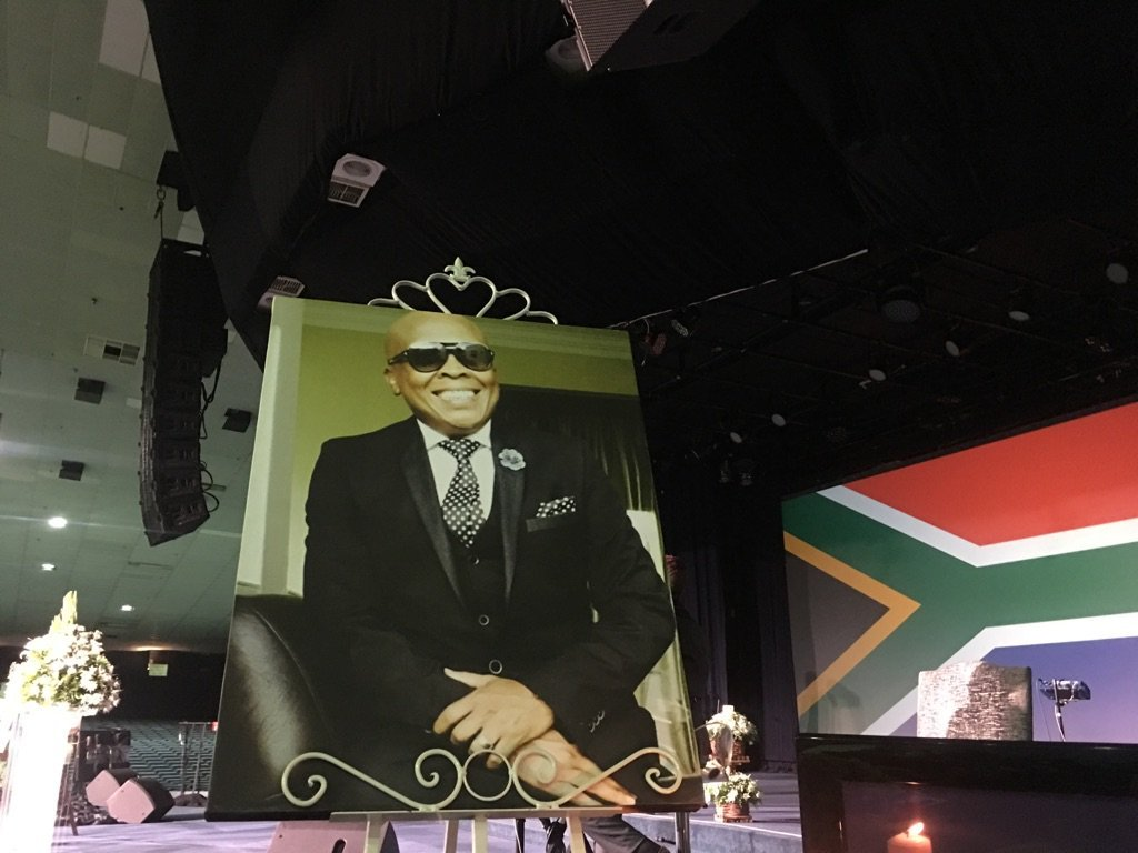Robbie Malinga Funeral Currently Underway