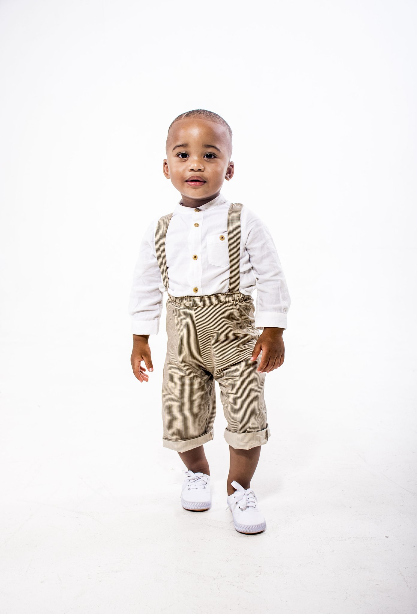 Baby Makhosini launches online kiddies apparel (Photos)