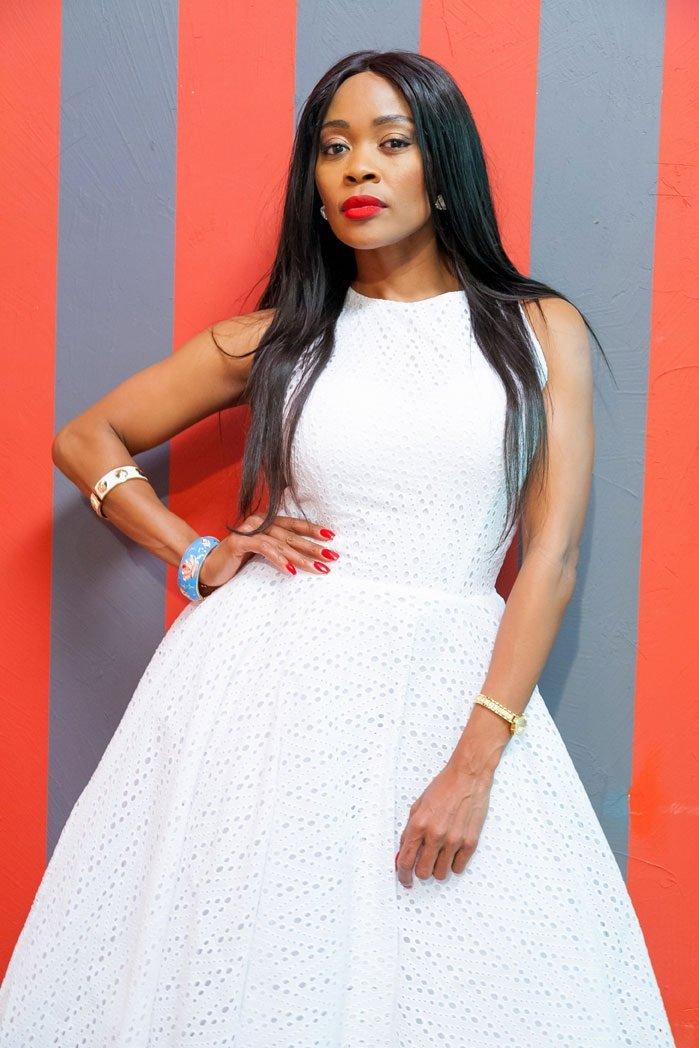Thembi Seete reveals her boyfriend