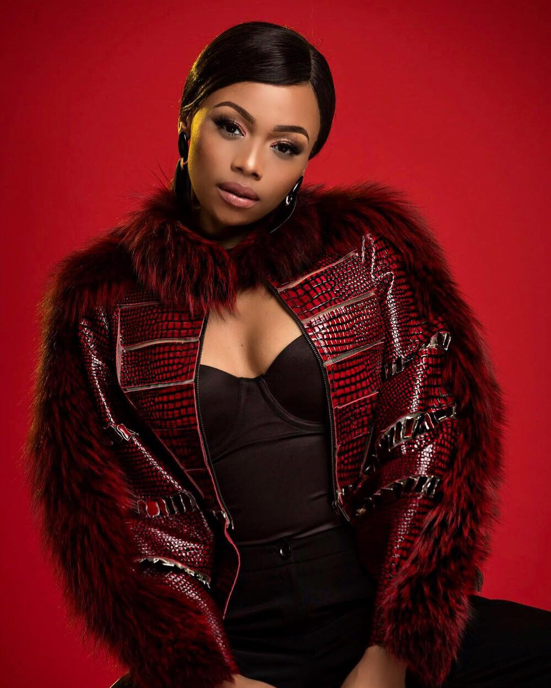 Bonang Matheba slays at London event