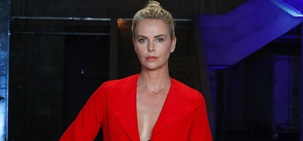 Charlize Theron shares a snap of her first modelling competition