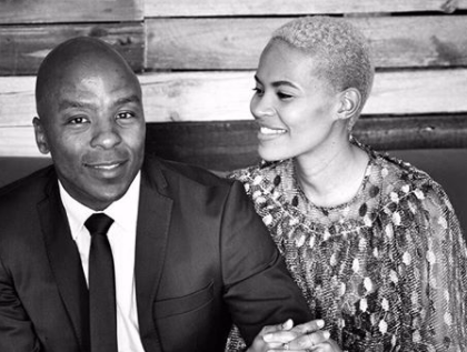 Gail and Kabelo Mabalane celebrate anniversary