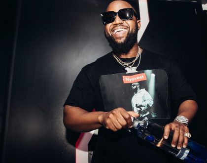 Here is Cassper Nyovest's 5 month body transformation