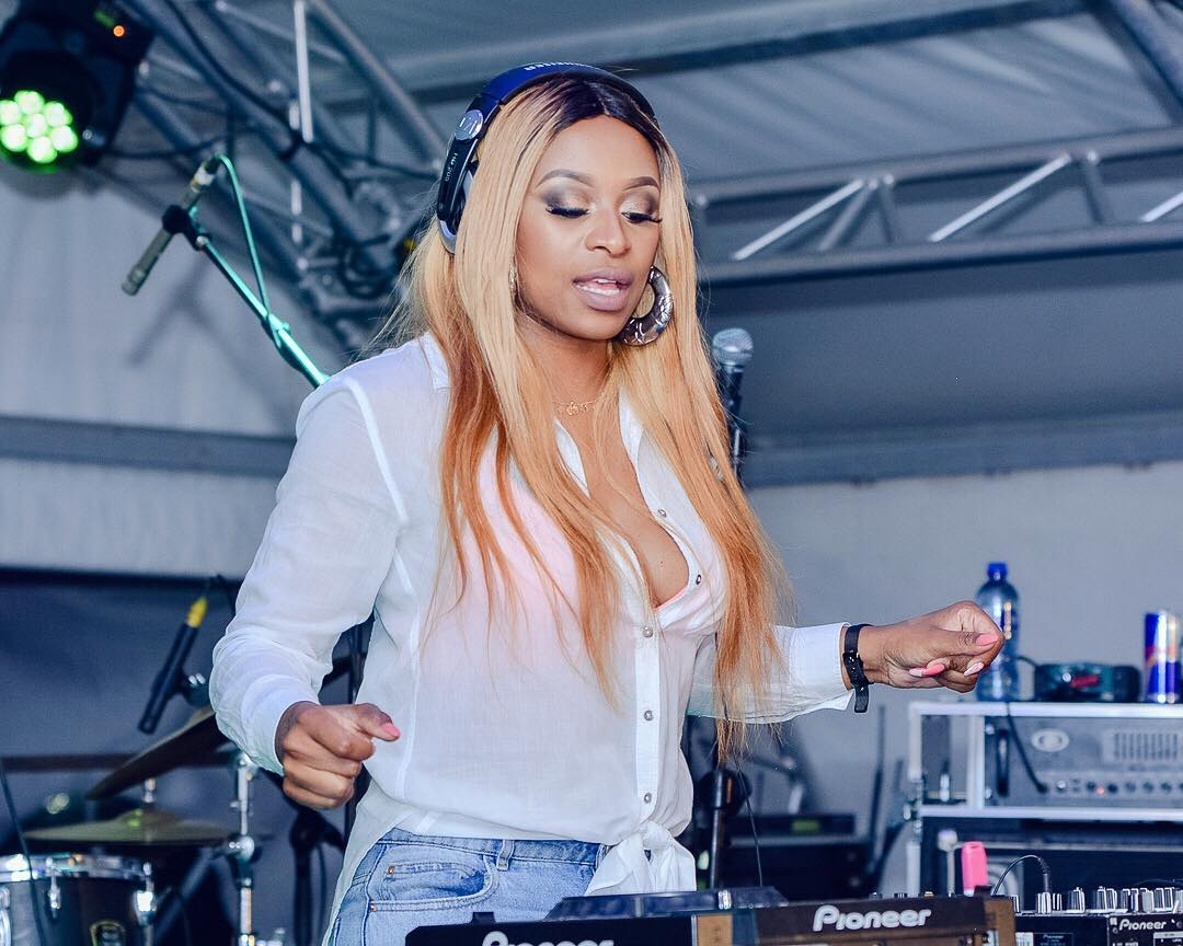DJ Zinhle partners with new brand