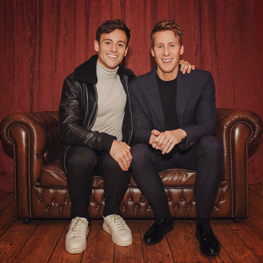 Tom Daley, Dustin Lance Black announce impending fatherhood