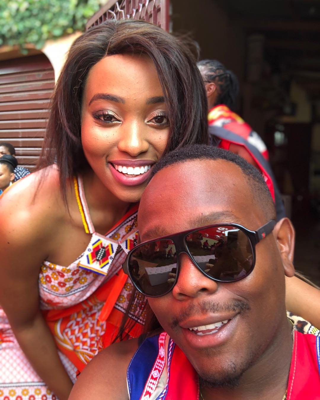 Khaya & Ntando Mthethwa share cute family photo