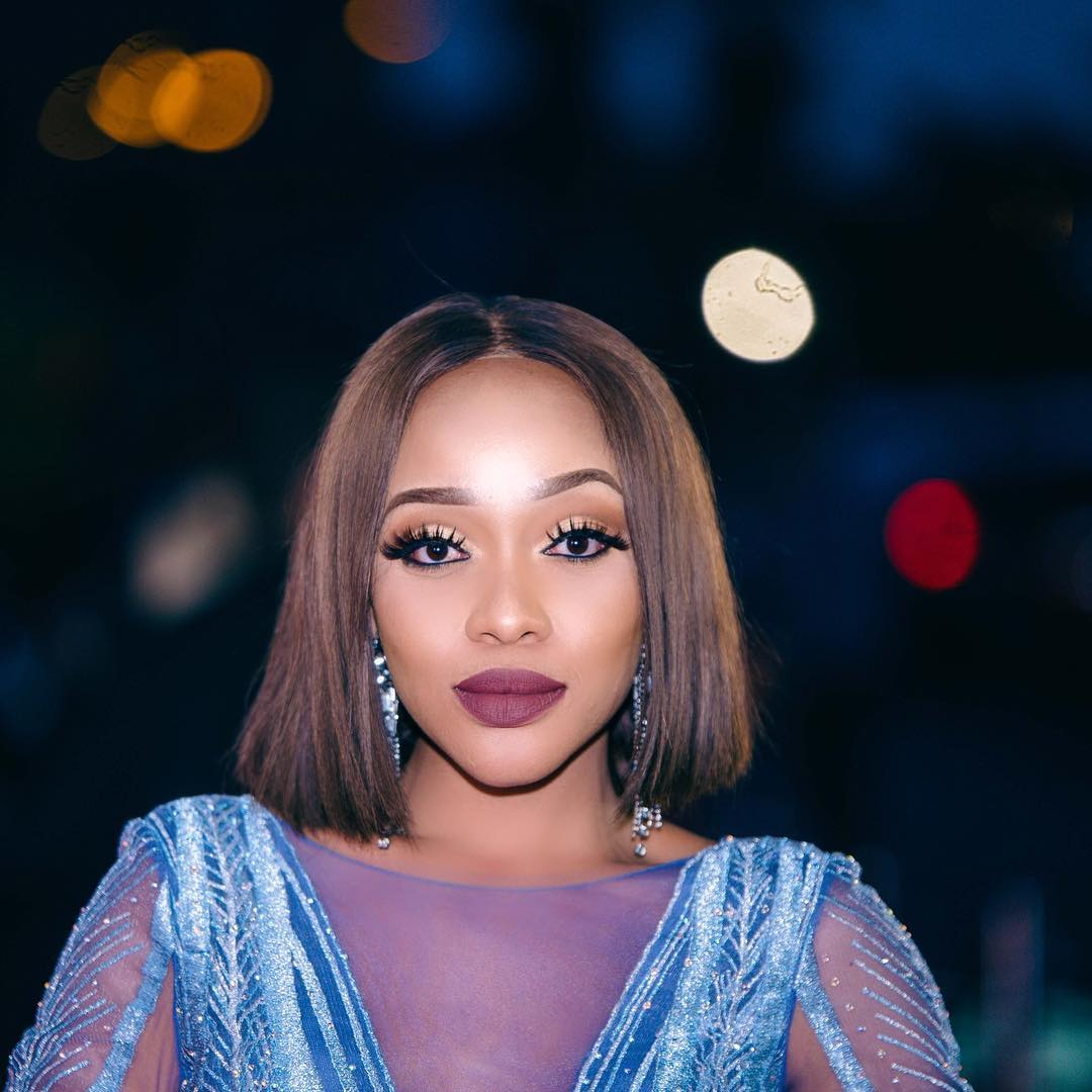 Thando Thabethe shows off lingerie collection (Photos)