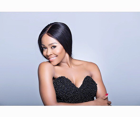 Thembi Seete gushes about son