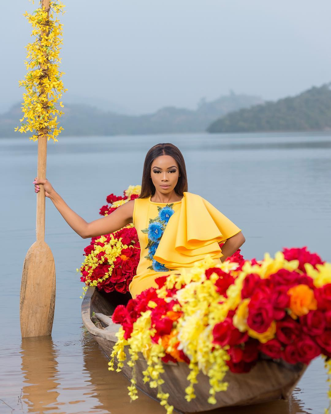 Bonang Matheba works with one of SA's biggest production