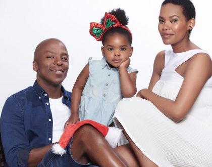 Gail and Kabelo Mabalane celebrate daughter on her 3rd birthday