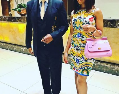 Kenny Kunene and wife Whitney welcome a baby girl