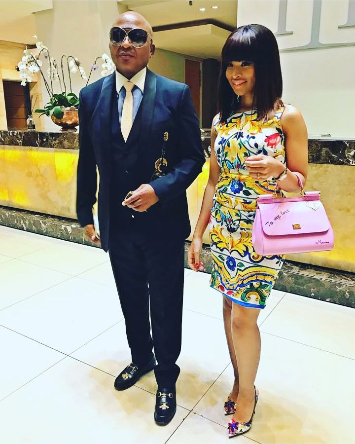 Baby number 2 on the way for Kenny Kunene and his wife Nonkululeko