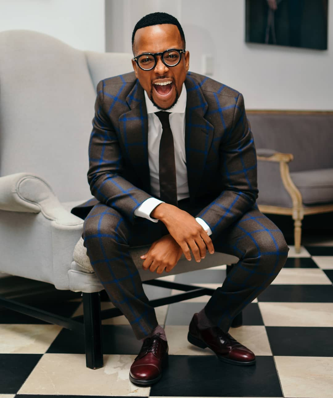 Maps Maponyane Renovates His Home