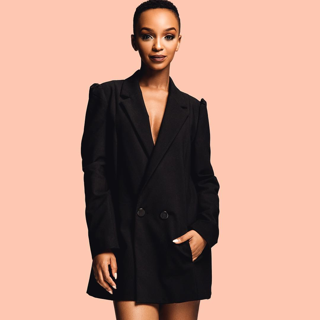 Nandi Madida announces second pregnancy in magazine cover