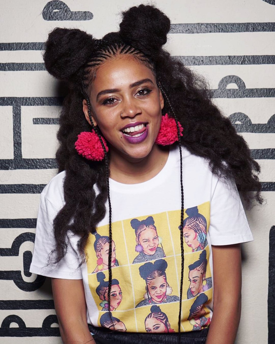 Sho Madjozi shares her experience of working with Chris Martin