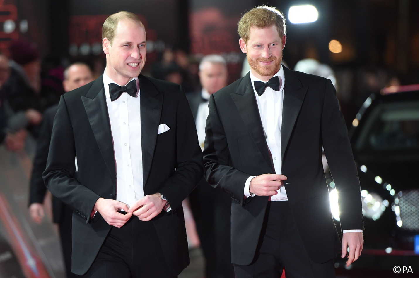 Prince Harry asks William to be best man at royal wedding