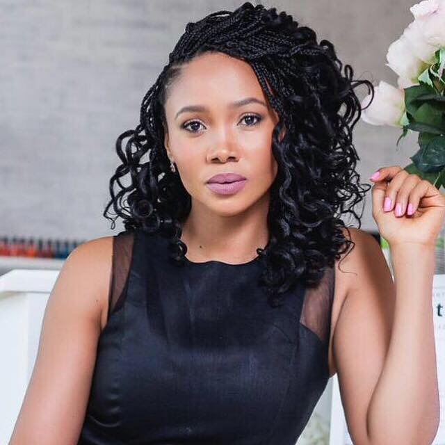 Azania Mosaka shows her solidarity with Zimbabwe
