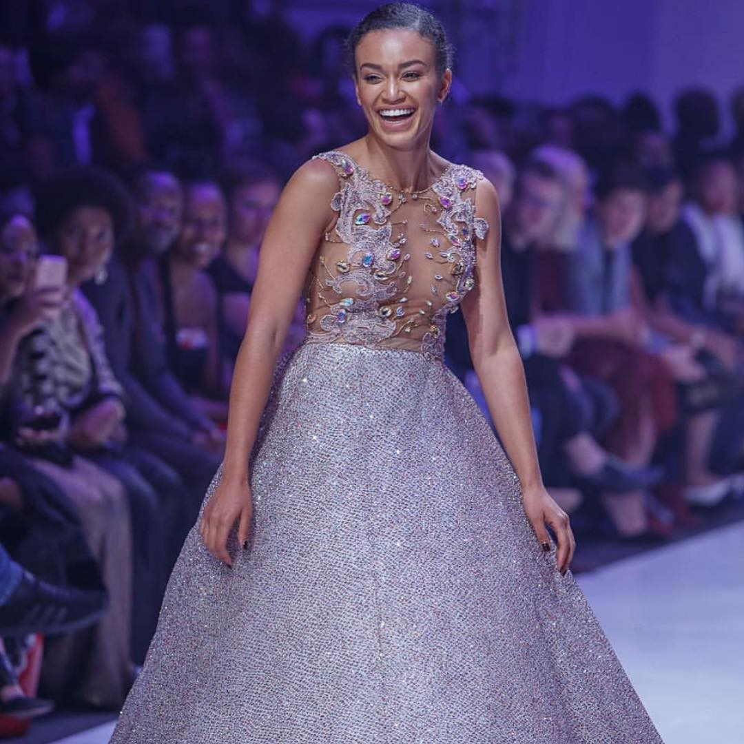 Pearl Thusi steams up your timeline with this sexy snaps (Pics)