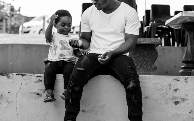 Celebrity photographer Austin Malema determined  to be there for son