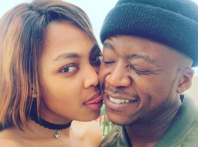 Thabo Mabogwane and girlfriend welcome little bundle of joy