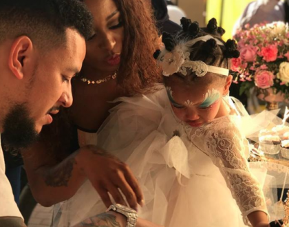 AKA and DJ Zinhle host joint birthday party for daughter (Photos)