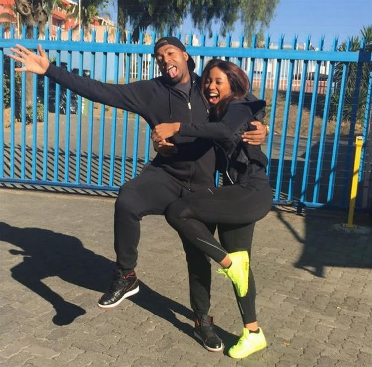 Itumeleng Khune special message to Sbahle following car crash